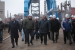 DEPUTY PRIME MINISTER OF THE RUSSIAN FEDERATION DMITRIY ROGOZIN VISITED BALTIYSKY ZAVOD