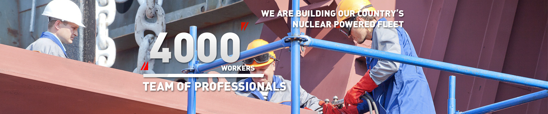 4000 workers team of professionals